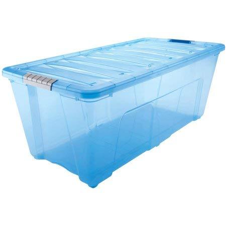 IRIS 5 Quart Stack & Pull Box, 10 Pack (26 Qt, Case of 6) by IRIS USA, Inc.