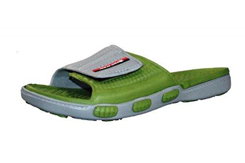 XTREM SPORT Männer Schaum Slide Sandale Grau-Camo Grün