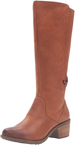 Teva Women's W Foxy Tall Leather Boot,Cognac,9 M US by Teva