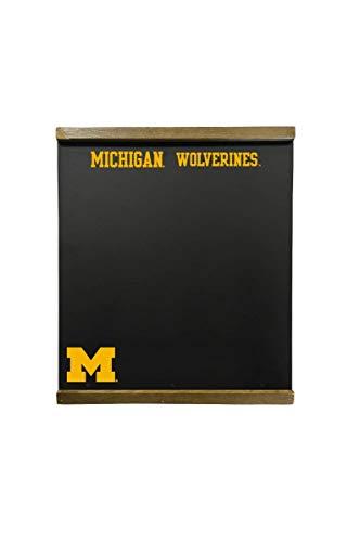Michigan Wolverines 16 x 18 Inch Chalkboard Wall Hanging (Michigan Chalkboard)
