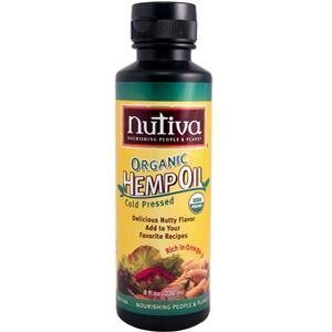Organic Hemp Seed Oil Nutiva 8 oz Liquid by Nutiva