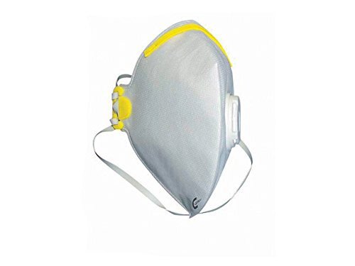 CleanAIR Mascherina Respiratoria FFP1, con Valvola, Confezione 20 Pezzi 25666