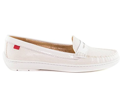 Marc Joseph Atlantic Ivory Loafer (6, White)