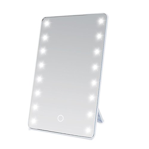 Sumnacon LED Lighted Vanity Mirror - Battery Operated Cordle