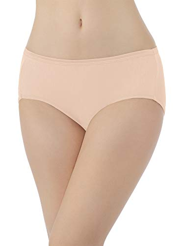 Vanity Fair Women's Plus Size Illumination Hipster Panty 18107, Rose Beige, Large/7