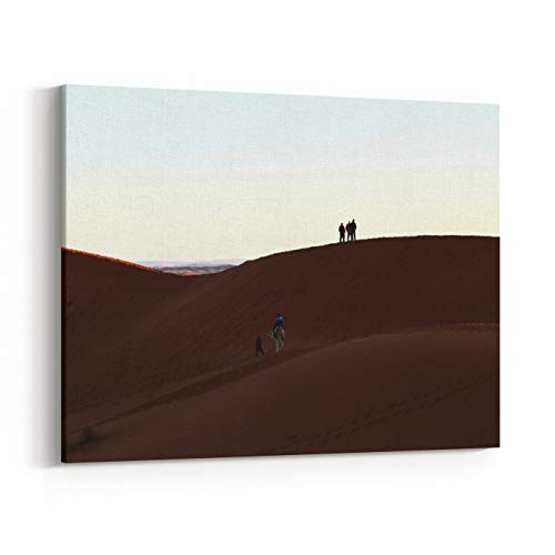Rosenberry Rooms Canvas Wall Art Prints - Sahara (30 x 24 inches) -