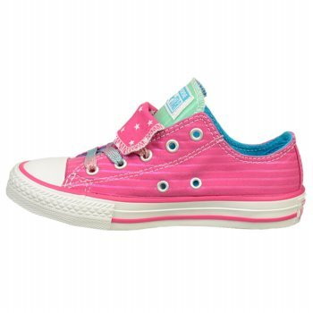 Converse All Star Double Tongue, Sneaker donna rosa Eglantine