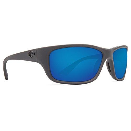 Costa Del Mar Tasman Sea 580P Tasman Sea, Matte Gray Blue Mirror, Blue - Costa Used Del Sunglasses Mar