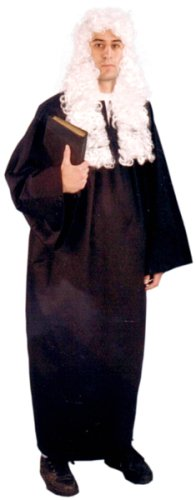 Adult Men's Judges Robe Costume (Size 40-44) (Judge Robes Costume)