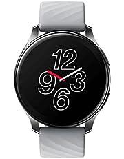 OnePlus Watch - Bluetooth 5.0 Smart Watch met een batterijduur van 14dagen en 5ATM + IP68 Waterbestendigheid - Moonlight Silver