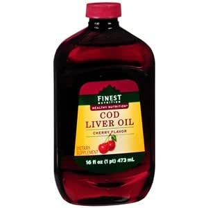 Amazon Com Finest Nutrition Cod Liver Oil Dietary