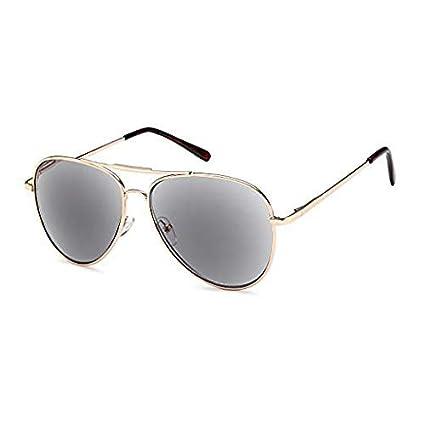 Gafas de sol de aviador VVDQELLA Gafas de lectura para exteriores de protección completa UV400 para hombres y mujeres con almohadillas suaves para la ...