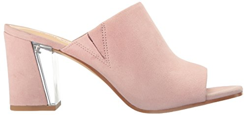 Pink Women's Gemily Nine Suede West Light Mule YBaw5