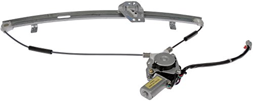 Dorman 741-010 Front Driver Side Power Window Regulator and Motor Assembly for Select Honda Models