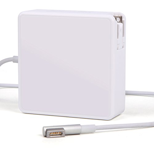 Macbook Pro Charger, 60W L Tip Magsafe Power Adapter Replacement Charger for Apple MacBook Pro 13 (Laptop Chargers For Apple)