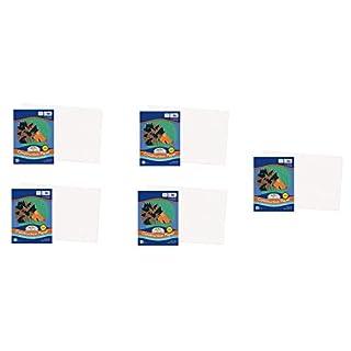 """SunWorks Construction Paper, White, 12"""" x 18"""", 50 Sheets (Fіvе Расk)"""