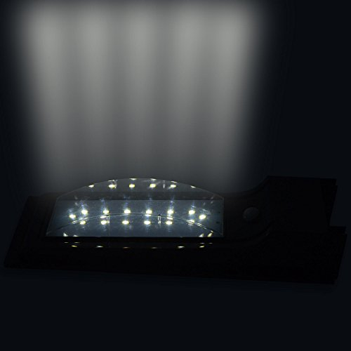 LED Waterproof Wireless Solar Powered PIR Motion Sensor Wall Light SL-7L5S by H&B Luxuries (Image #7)