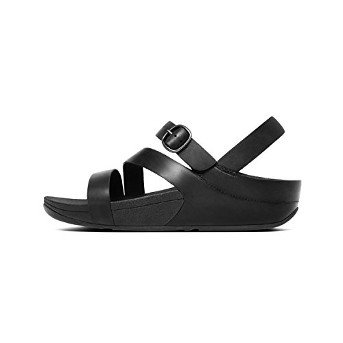 all Skinny Fitflop Bout The Tm Black Leather Ouvert Femme cross 090 Z Sandal Noir AArvZqw5