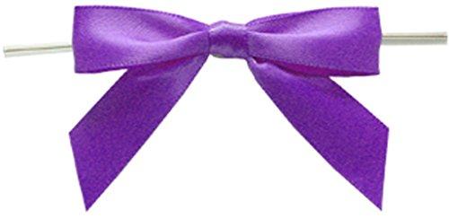 BAYWIND LTD; Medium Twist Tie Bows- 100pc - Medium Twist