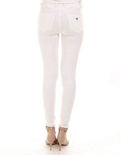 GUESS Vaqueros Skinny para Mujer Blanco (Scuffy A021)