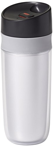 OXO Good Grips Double Wall Travel Mug, Silver- 15 ounce