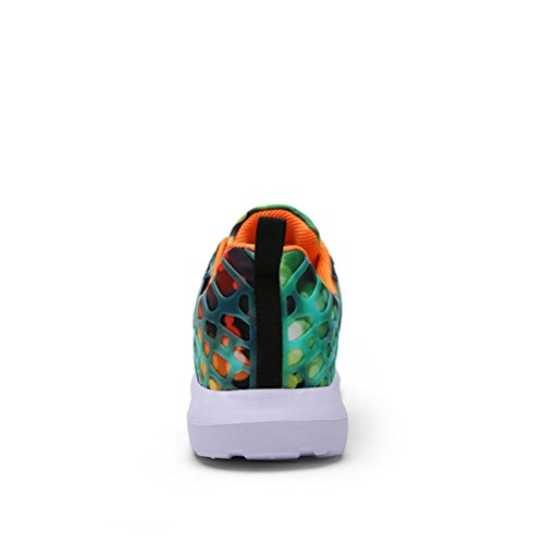 Dannto Road Running Sneakers Leichtathletik-Wanderschuhe für Frauen Männer Orange