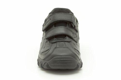 Clarks  Jack Shine Jnr, Jungen Stiefel Schwarz schwarz One Size Fits All, Schwarz - schwarz - Größe: 11 UK