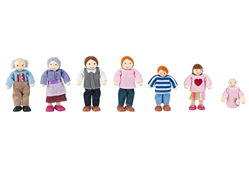 Kidkraft Doll Family of 7 for sale  Delivered anywhere in USA