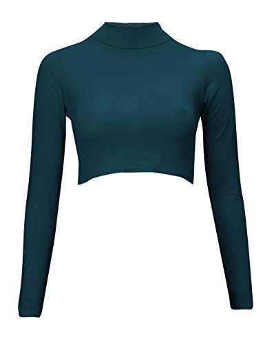 Baleza - Camiseta de manga larga - Básico - para mujer Teal