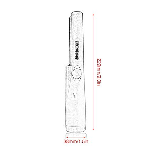 Amazon.com: Waterproof Automatic Pointer Pinpointer Portable ...