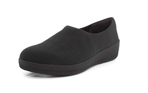 Fitflop Vrouwen Superstretch Bobby Misstap Op Loafer Shoes All Black