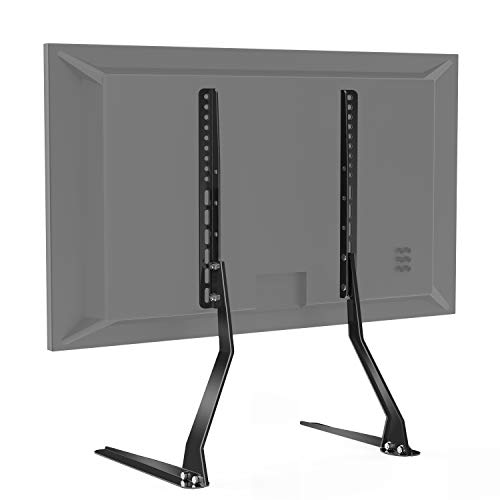 PERLESMITH Universal Table Top TV Stand for 37 - 70 Inch Flat Screen, LCD TVs Premium Height Adjustable Leg Stand Holds up to 110lbs,VESA up to 600x400mm