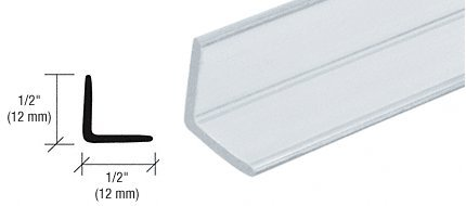 CRL Multi-Purpose Polycarbonate Angle Jamb for 1/4