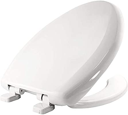 Astonishing Church 290Tla 000 Plastic Elongated Toilet Seat White Theyellowbook Wood Chair Design Ideas Theyellowbookinfo