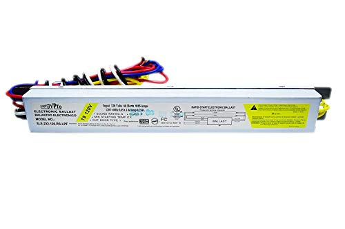 ENERGY PRO Ballast 2 Lamp Model: SLE-232-120-RS-LPF ~ Rapid Start Electronic Ballast (1-Pack) ()