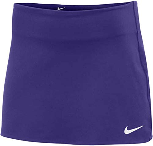 Nike Women's Court Power Spin Tennis Skirt (Purple, X-Small)