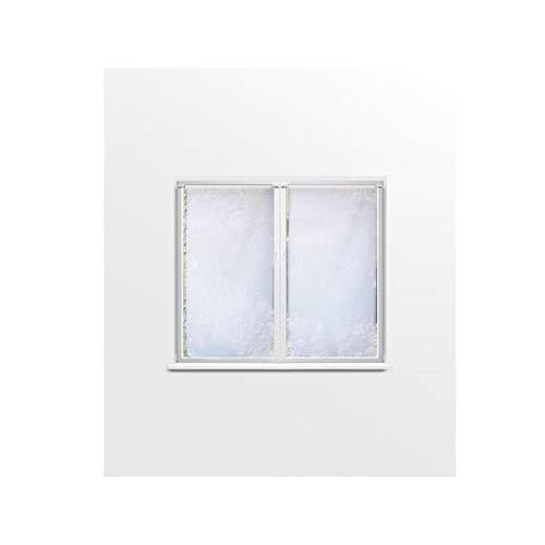 Soleil d'ocre Coppia di tendine a vetro 60x120 cm DOLLY bianco SELARTEX 044553