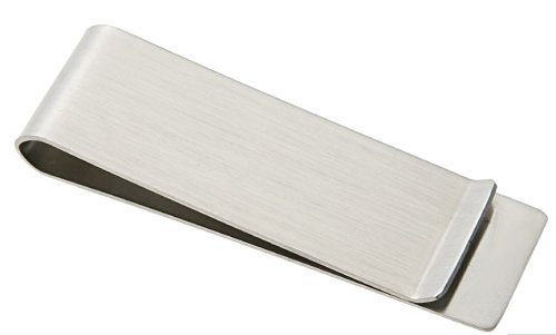 Stainless Steel Money Clip Wallet Credit Card Holder