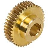 Precision worm wheel centre distance 35mm i=20 40 teeth
