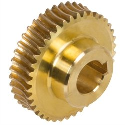 Precision worm wheel centre distance 35mm i=90 90 teeth