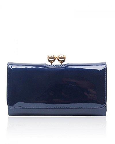 pour Pochette femme bleu oxford Craze London TqaEwEC