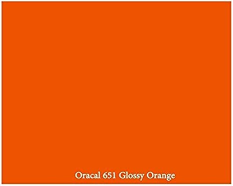 12 x 10 Ft Roll of Glossy Oracal 651 White Vinyl for Craft Cutters and Vinyl Sign Cutters