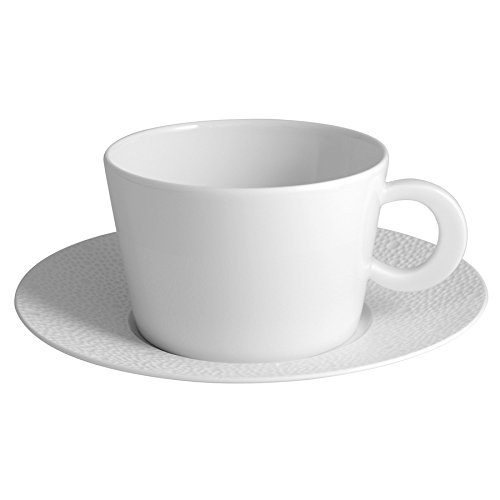 Bernardaud Ecume White Breakfast Cup White Breakfast Cup