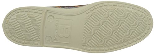 Tennis Baskets Bensimon Losanges Violet prune Femme R6nSOn8