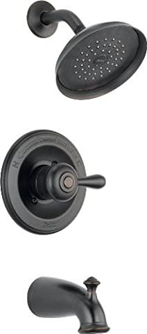 Delta 14478-RBSHL Leland Monitor 14 Series Tub and Shower Trim, Venetian Bronze (Delta Leland Bathtub Faucet)