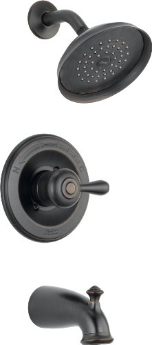 Delta Faucet 14478-RBSHL Leland Monitor 14 Series Tub and Shower Trim, 1, Venetian Bronze