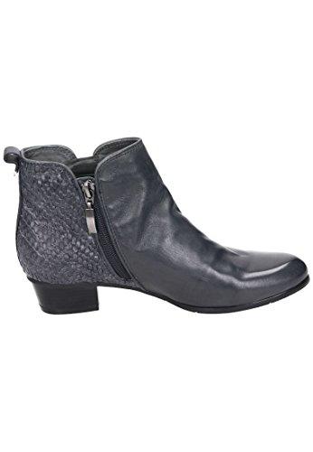 Piazza Piazza Damen Stiefelette - Botas de Piel para mujer marrón marrón gris