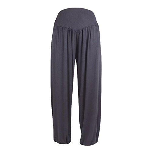 Mug Dance Large (TATGB Womens Elastic Loose Casual Modal Cotton Soft Yoga Sports Dance Harem Pants)