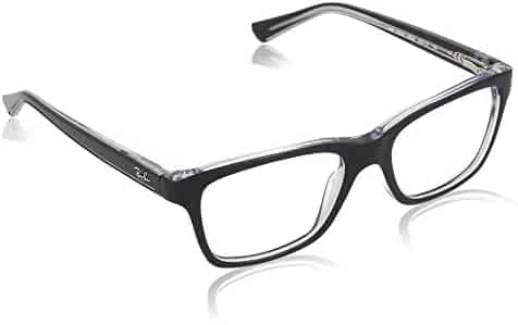 Ray Ban Junior RY1536 Eyeglasses-3529 Top Black On Transparent-48mm