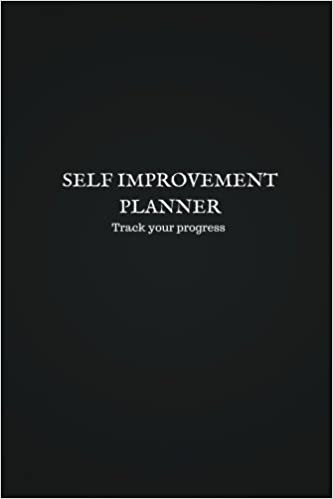 Self Improvement Planner: Track Your Progress by Damir Pervan